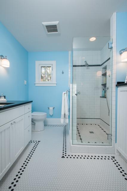 Capitol Hill Dutch Colonial  Traditional  Bathroom  seattle  by Kayron Brewer CKD CBD