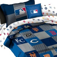 MLB Bedding Set League Baseball Teams 5-Piece Twin Bed ...