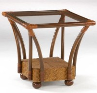 Night and Day Furniture Tulip End Table - Tropical - Side ...