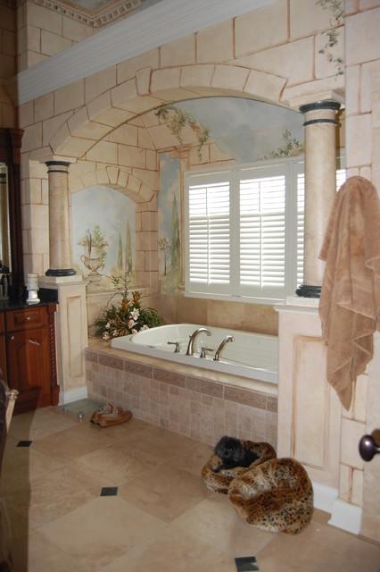 Roman Bath  Traditional  Bathroom  chicago  by Doreen