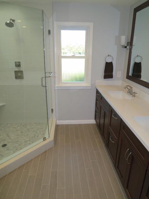 cherry wood kitchen table costco mat master bathroom - transitional san francisco