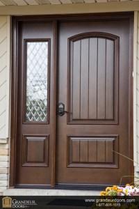 Custom wood doors by Grandeur Doors