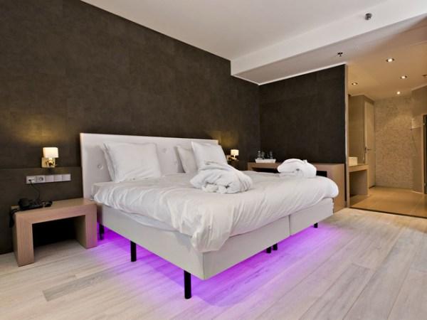 white floors in bedroom White Hardwood Floors - Modern - Bedroom - san diego - by DuChateau Floors