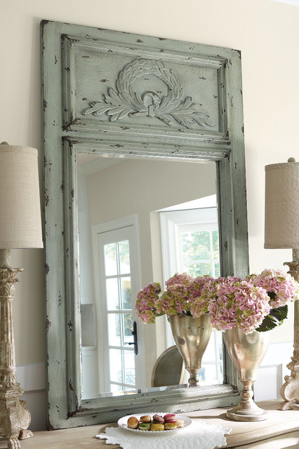 Laurel Trumeau Mirror transitional-mirrors