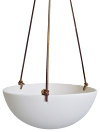 Eggshell Hanging Planter - Contemporary - Indoor Pots And ...