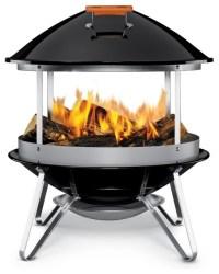 Weber Fireplace Grill modern-fire-pits