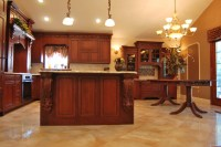 Staten Island Raised Ranch Kitchen - Traditional - Kitchen ...