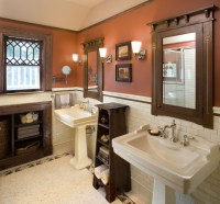 Bathroom1 Hill House - Craftsman - Bathroom - new york ...