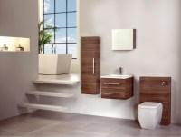 Walnut Bathroom Furniture - Modern - Bathroom Cabinets And ...