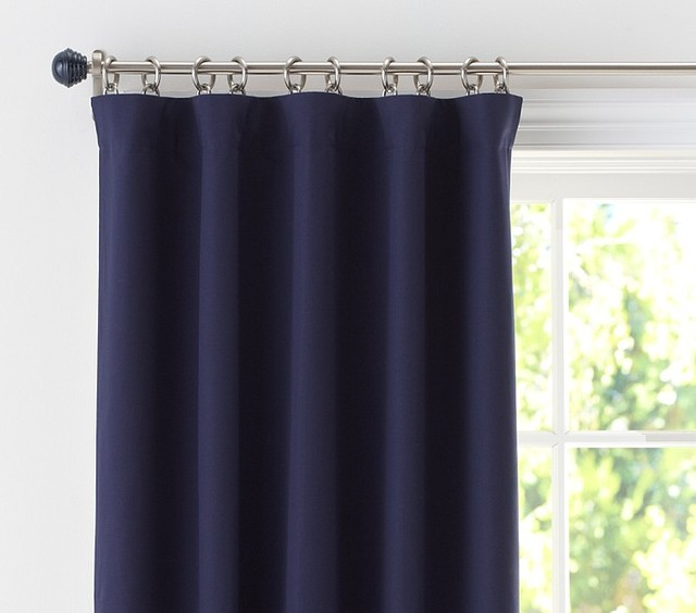 Sailcloth Panel With Blackout Liner windowtreatments