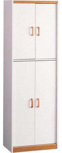 Ameriwood Pantries 4-Door Storage Pantry in White 4506 ...
