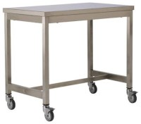 Quovis Counter Height Table - Industrial - Bar Carts - by ...