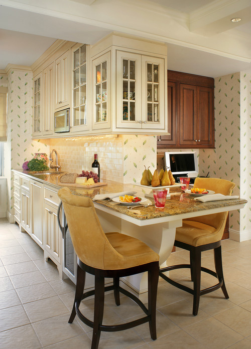 kitchen nook seating counter height stools 15 eat-in kitchens that put your dining room to shame