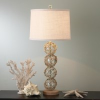 Nautical Rope and Glass Ball Table Lamp - Lamp Shades - by ...
