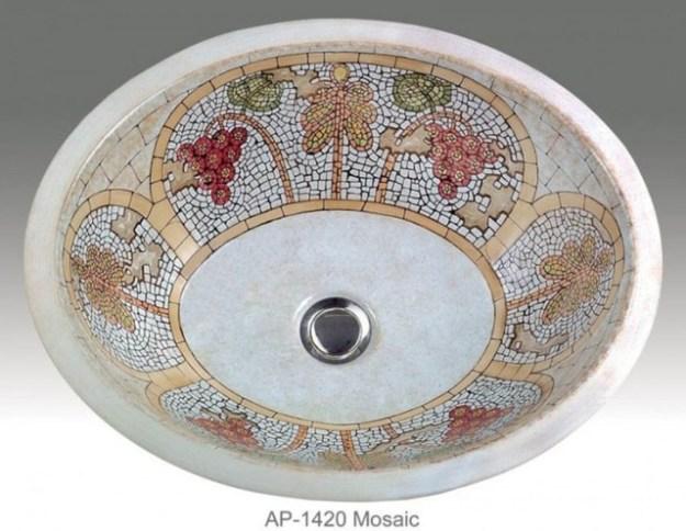 mosaic bathroom sink - sink ideas
