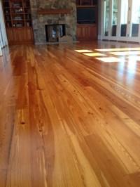Reclaimed Heart Pine Flooring & Staircase - Rustic ...