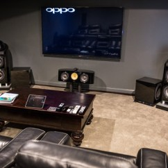 Living Room End Table Decorating Ideas Designs Of High Cincinnati Home Theater - By Cinema ...