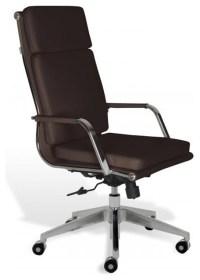 Greta High-Back Office Chair -Brown modern-office-chairs