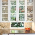 Donna s blog kitchen design glass cabinets in front of windows