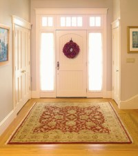Oriental Rug for an Elegant Foyer
