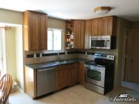Apartment-Sized Kitchen - Transitional - Kitchen - other ...