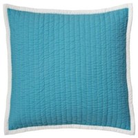 Turquoise Cabin Quilt Euro Sham - Traditional ...