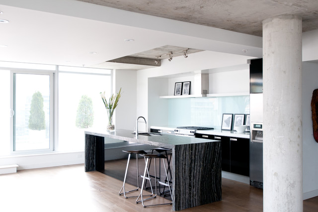 King West Condo Residence  Modern  Kitchen  toronto