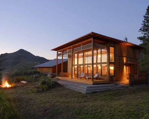 Modern Cabin Home Design Ideas Pictures Remodel And Decor