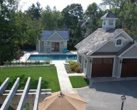 Garage And Pool House Home Design Ideas, Pictures, Remodel ...