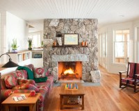 Stone Fireplace Surround | Houzz