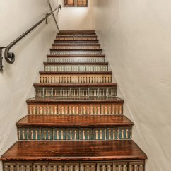 Remodel Works Bath & Kitchen Pantry Storage Stenciled Stair Risers Ideas, Pictures, And Decor