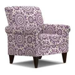 Purple Accent Chair Steel Design 50 Most Popular Armchairs And Chairs For 2019 Houzz Handy Living Janet Amethyst Medallion