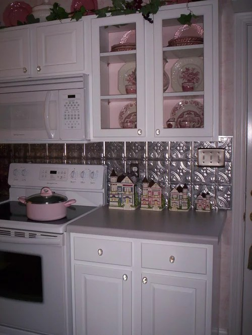 Tin Ceiling Backsplash Ideas Pictures Remodel And Decor