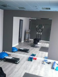 Home Gym Design Ideas, Renovations & Photos with Painted ...