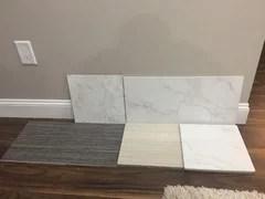bathroom tile questions