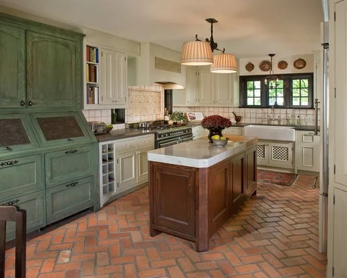 antique green kitchen cabinets Antique Green Cabinets Ideas, Pictures, Remodel and Decor