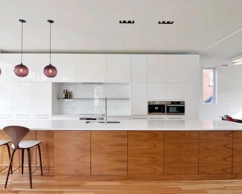 black and white wood kitchen design ideas White And Wood Kitchen | Houzz