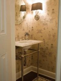 Asian Powder Room Design Ideas, Remodels & Photos