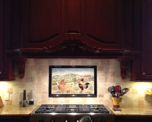 Cindys French Country Farmhouse and Chickens kitchen