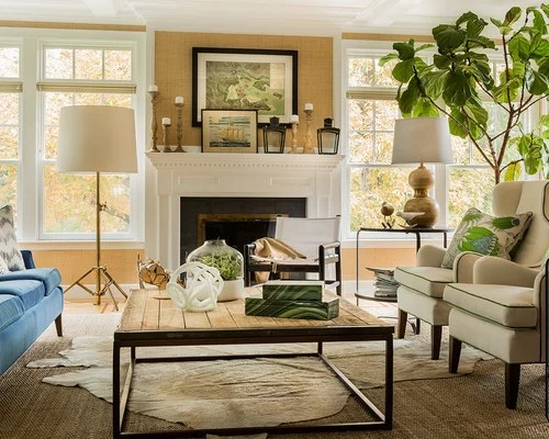 design ideas for small living room with corner fireplace blue wall paint transitional home ideas, pictures ...