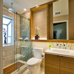 Small 1 Bedroom Living Room Ideas Wall Sconce Contemporary Asian Bathroom Ideas, Pictures, Remodel And Decor