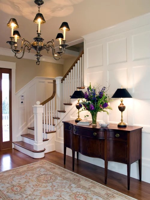 Foyer Stairs Entry Home Design Ideas, Pictures, Remodel