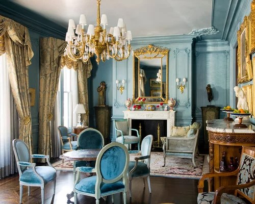 good paint colors for living room ideas with wood burner blue and gold | houzz