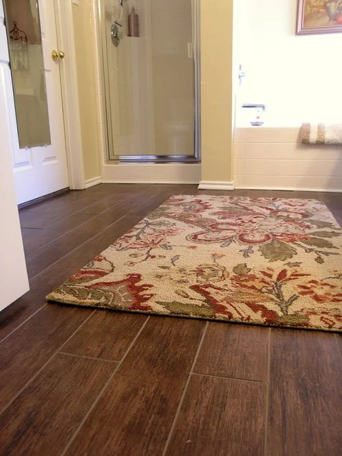Tile And Wood Flooring Home Design Ideas Pictures Remodel and Decor