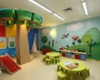 Playroom Mural   Houzz