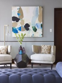 Modern Living Room Art | Houzz