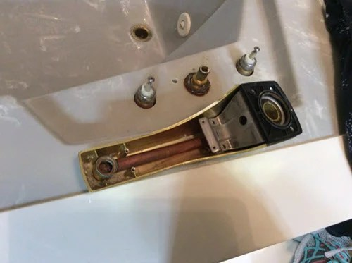 old roman tub faucet handle replacement