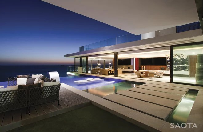 Contemporáneo Piscina by SAOTA