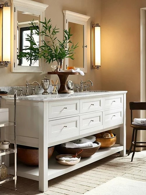 Pottery Barn Vanity Ideas Pictures Remodel and Decor