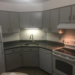 Light Maple Kitchen Cabinets Buffalo Ny Cabinet Refacing--light Gray With Granite Countertops
